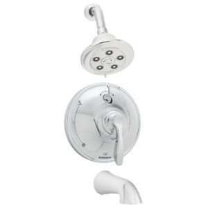 Speakman Chelsea SM-10430-P Shower and Tub Combination with Diverter Valve