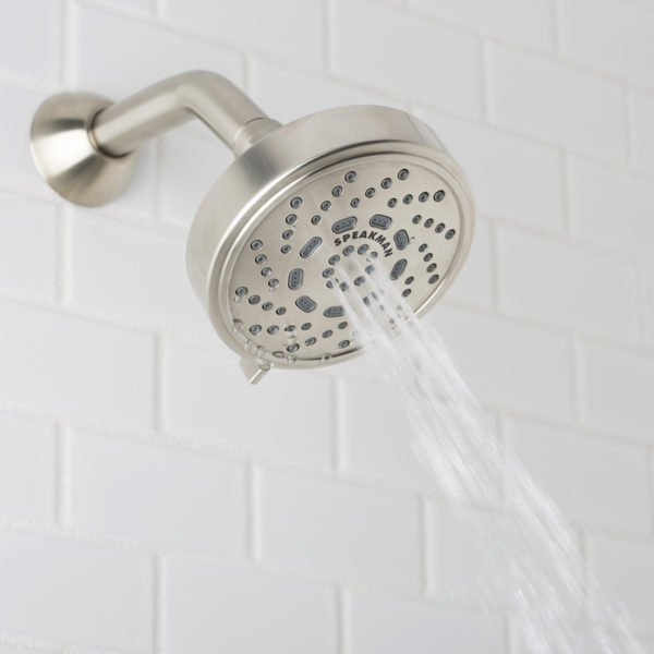 Speakman Echo S-4200-BN-E15 1.5 gpm Low Flow Multi- Function Shower Head
